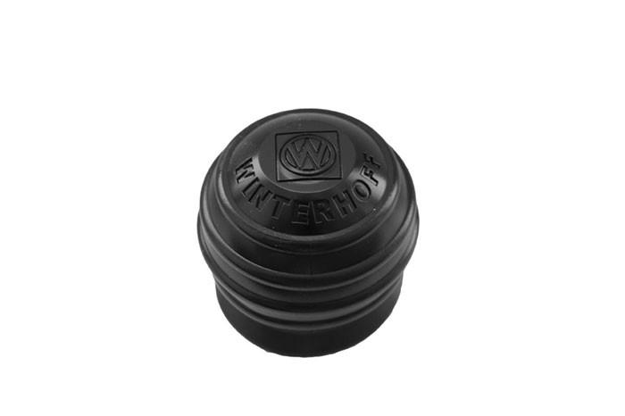 Gummi-Abdeckung für Anhängerkupplung (Soft-Ball), schwarz