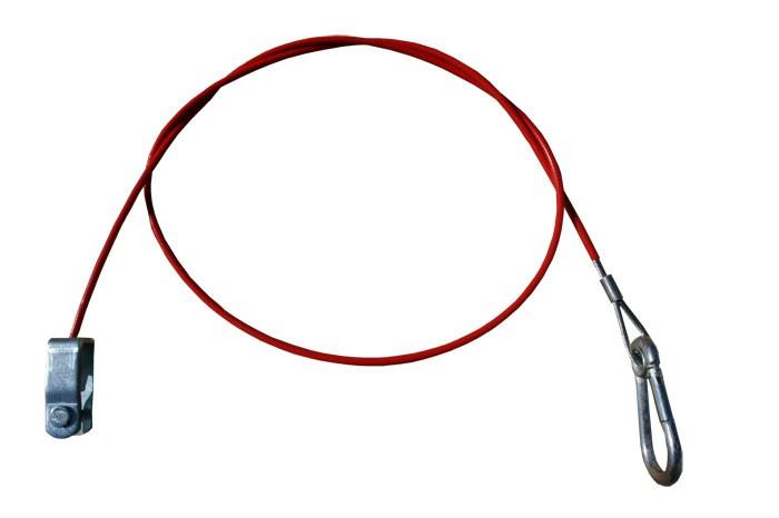 Abreißseil Bremsseil Fangseil für gebremste Anhänger 1.050 mm
