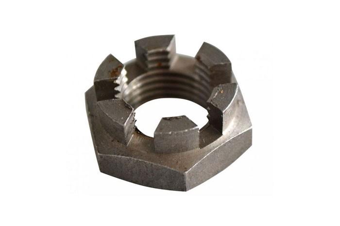 Kronenmutter M16 x 1,5 Schlüsselweite 24 mm