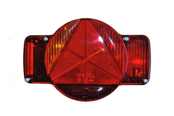 Humbaur Multifunktionsleuchte links mit Nebelschlußleuchte 5 pol. Bajonett