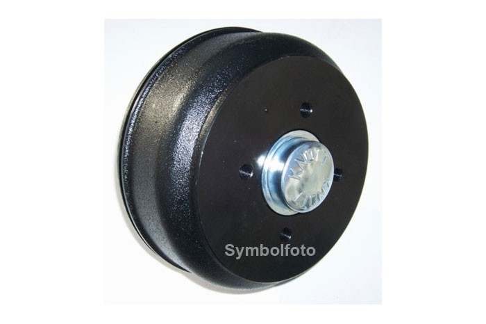Bremstrommel Bremsnabe Knott 250x40 Kegelrollenlager Radanschluss 5x112