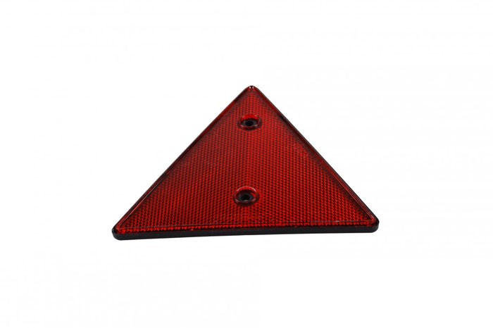Dreieckrückstrahler Reflektor Dreieckig rot schraubbar