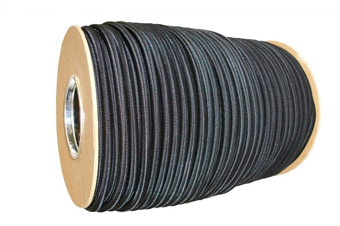 1 Meter Expanderseil 8 mm schwarz