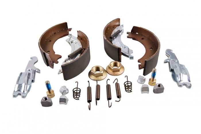 Original Knott Bremsbacken Komplettsatz 403612.001 für Radbremse 16-1365, 160x35 mm