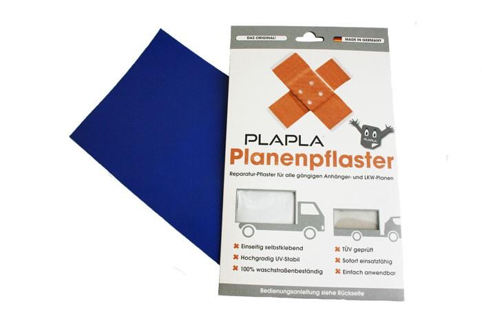 Planenpflaster ultramarinblau RAL 5002 zur Planenreparatur