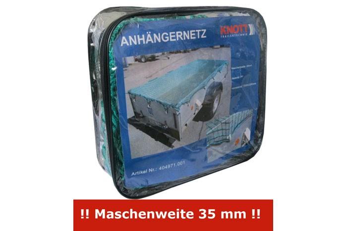 Anhängernetz, Transportnetz, Ladungssicherungsnetz mit Gummischnur Länge 2.700 mm Breite 1.500 mm