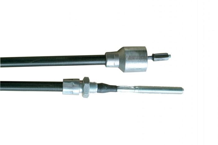 Bremsseil Seilzug passend für AL-KO HL=530 mm / GL=740 mm Glocke 26 mm