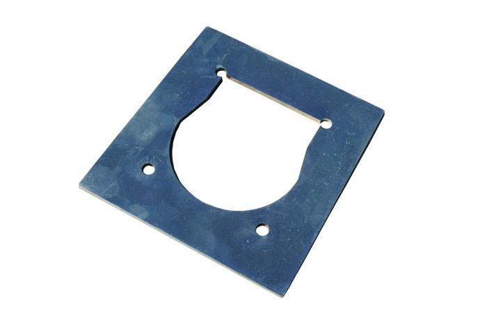 Gegenplatte Verstärkungsplatte für Zurrmulden Zurrösen 800 kg rechteckig 100 x 95 mm