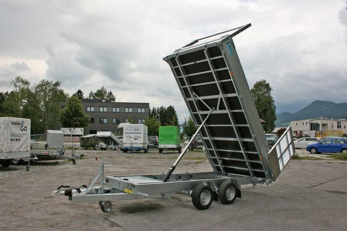 Verleih Kipper Multifunktionsanhänger TwinTrailer 4,02 m HzGG. 3.500 kg