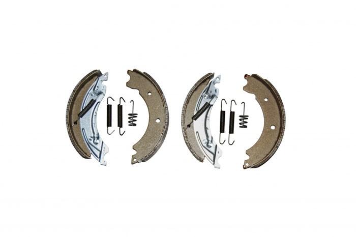 Original Knott Bremsbacken Set 402677.001 für Radbremse 25-2025, 250x40 mm